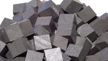 Bazalt 4-6 ,6-8, 8-10 kırma küp taşları
