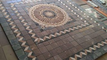BORDUR desenli mozaikler